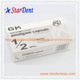 Instrumentos dentales de amalgama Gk 600 mg cápsulas de material de relleno dental