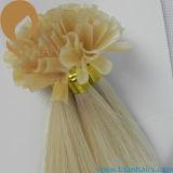 Estensione pre legata diritta serica dei capelli di punta della cheratina U