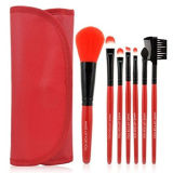7pcs cosmética profesional de viajes constituyen el conjunto de cepillos con Bolsa Bolsa (HERRAMIENTA-18)