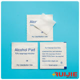 Pista médica del alcohol con la pista del alcohol isopropilo del 70%
