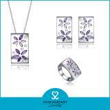 Venta caliente joyas de plata de la moda, accesorios de joyería Custume (J-0113)