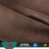 Tessuto all'ingrosso del cuoio del Faux di modo per gli uomini o i bagagli delle donne