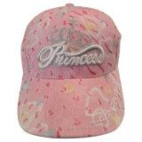 Boné de beisebol cor-de-rosa bonito com logotipo 3D Bb206