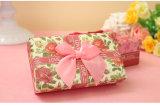 Hübscher quadratischer Geschenk-Kasten mit feinem Bowknot, Wedding Produkt-Geschenk-Kasten