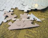 En forma de corazón Libro Pearl White Puzzle