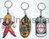 Promoção Gift Rubber Custom Plastic Silicn Key Chain Chave Chave Chaveiro Key Holder