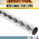 ASTM A554 201 304 acero inoxidable tubo decorativo