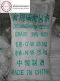 Catégorie comestible de bicarbonate de sodium avec la qualité