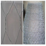 rete metallica tessuta galvanizzata 2.5mm del ferro