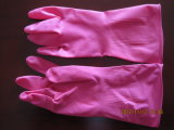 стая 60gram выравнивает желтые перчатки домочадца латекса (NEO-1026)