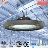 100W 150W 200W 알루미늄 120lm/W LED UFO Highbay 빛