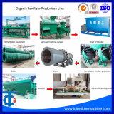 Disco de adubo composto orgânico Granulator linha de produção