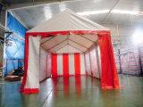 3X6赤く白い党玄関ひさしのテント(PT0306)
