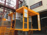 Новый Ce одобрил строительный подъемник 2 тонн с бортовой дверью