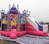 2019 Nouveau château gonflable gonflable Princesse commercial avec la diapositive