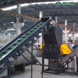 Los residuos plásticos PP/película PE reciclado y la línea de lavado/máquina