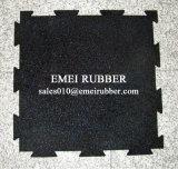 Verrouillage des tapis en caoutchouc de plancher de caoutchouc pour une salle de gym