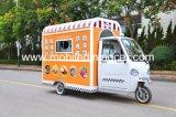 Tricycle mobile pour vendre les aliments de préparation rapide avec la bonne qualité