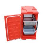 Коробка обеда содержания горячего пакета коробки обеда теплая