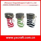 De Verpakking van de Doos van de Gift van de Houder van de Gift van Kerstmis van Kerstmis van de Decoratie van Kerstmis (zy15y027-1-2-3)