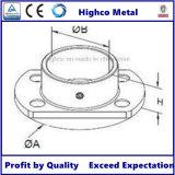 Plaque de base oblongue pour balustrade en acier inoxydable