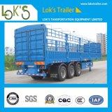 aanhangwagen van de Vrachtwagen van het Pakhuis van de Staak van 13m de Op zwaar werk berekende Semi voor Lading