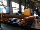 Taglio rotondo del tubo di CNC e macchina di smussatura (fiamma/plasma)