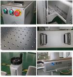 Bewegliche Raycus 20W 30W 50W Faser-Laser-Metallgravierfräsmaschine