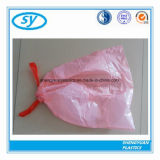 Sac d'ordures en plastique de cordon de Diaposable