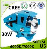 Faro del laser del motociclo LED del CREE U5 30W