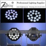 iluminación de la IGUALDAD LED de 18X12W RGBW con Powercon