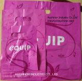 ポリ袋の多彩な低密度のショッピング商品によって型抜きされるハンドル袋