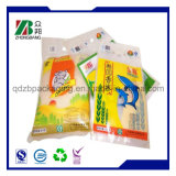Las bolsas de papel del arroz/el papel de arroz se levantan las bolsas de papel de la bolsa/del arroz con la ventana