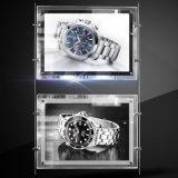 최신 판매 아크릴 프레임 호리호리한 광고 게시판 LED 결정 Lightbox