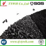 Carbone activé granulaire 12X40 à faible cendre et humidité