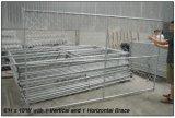 8FT x 14FT 건축 안전 체인 연결 휴대용 담 위원회