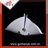 細かい網の円錐形のペーパーペンキのこし器
