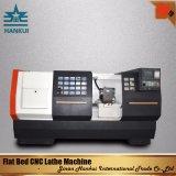 Tornio di CNC della base piana del sistema di controllo del Mitsubishi Cknc6163