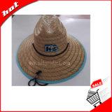 Chapéu de palha grande da cavidade do chapéu de palha da arremetida do chapéu da borda do chapéu da promoção