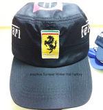 La crête plate de qualité bon marché brodée folâtre les chapeaux promotionnels