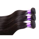 O Weave brasileiro do cabelo do vison do rei Brasileiro Virgin Cabelo Reto 4 PCS empacota o cabelo humano do Virgin não processado do produto de cabelo 7A da rainha