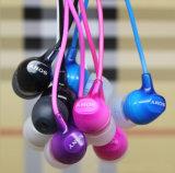 Ex15ap를 위해 마이크 에서 귀 Earbuds 3.5mm 잭을%s 가진 최신 판매 입체 음향 타전된 이어폰