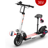 10 inch Elektrische Aluminium Scooter / beste opvouwbare elektrische kick Scooter