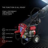 elektrisches Vergasermotor-Hochdruckwasserstrahlauto-Waschmaschine-Unterlegscheibe-Reinigungsmittel des Benzin-196cc