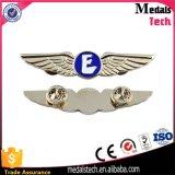 Emblemas feitos sob encomenda do Pin das forças armadas da segurança agradável com logotipo em ofícios do metal