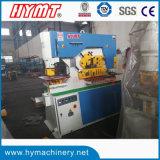 Máquina de corte de dobra de perfuração combinada hidráulica do metal da elevada precisão Q35Y-25