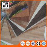 Assoalho luxuoso da prancha do vinil do PVC das telhas do vinil da forma