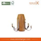 Cinturón de madera natural / gancho de lazo (MP04-N)