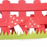 100% poliéster Regalos de Navidad Caja de almacenamiento para la decoración de Navidad