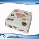 Lindo papel cartón de embalaje de alimentos/ Torta (XC-fbk-028)